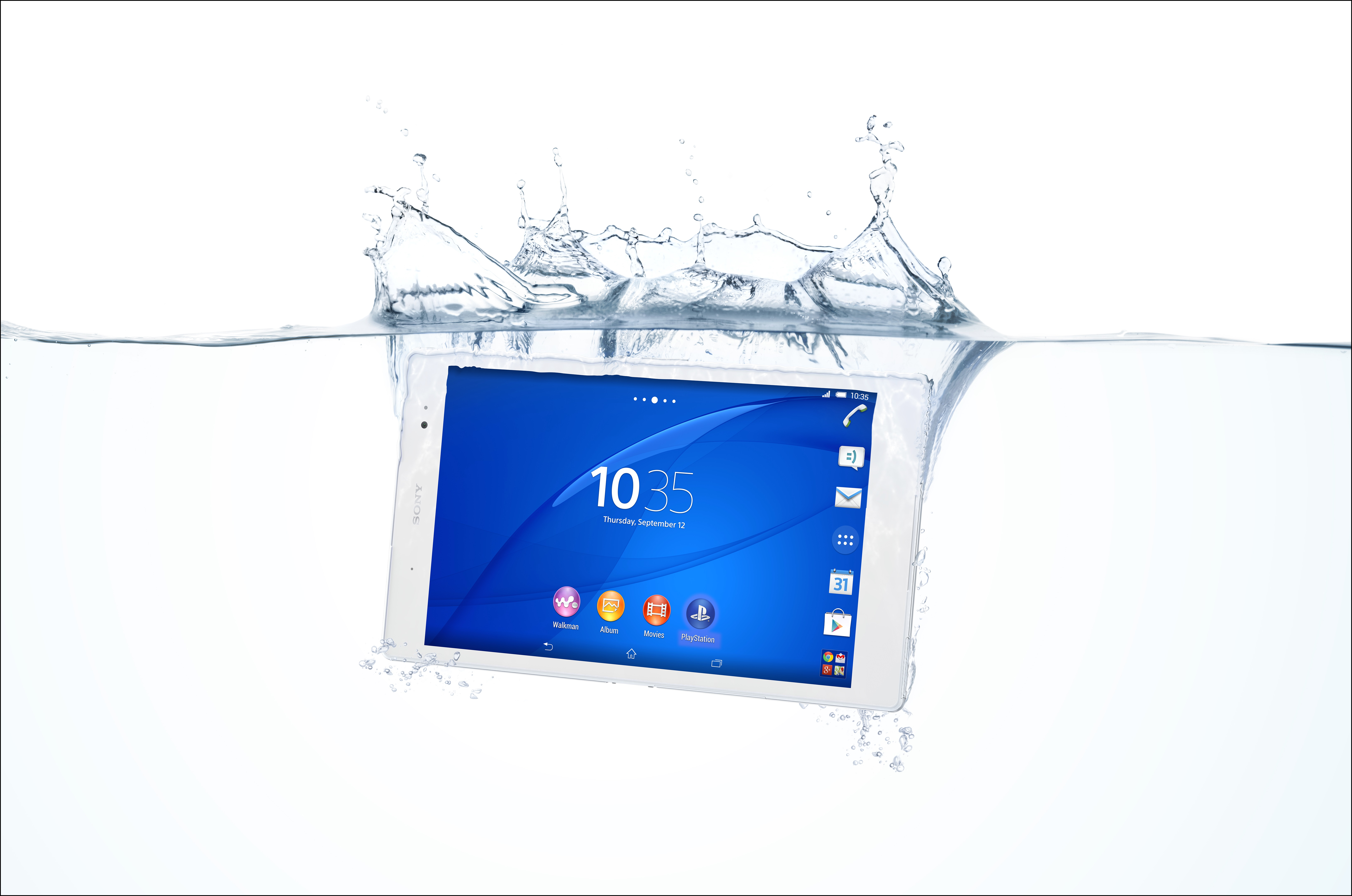 Xperia Z3 tablet compactのレビュー