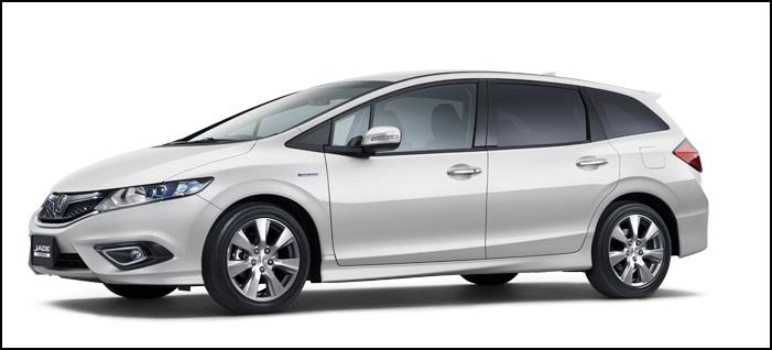 ホンダのジェイドターボ(RS)が5月に発売!価格は253万円からスタート