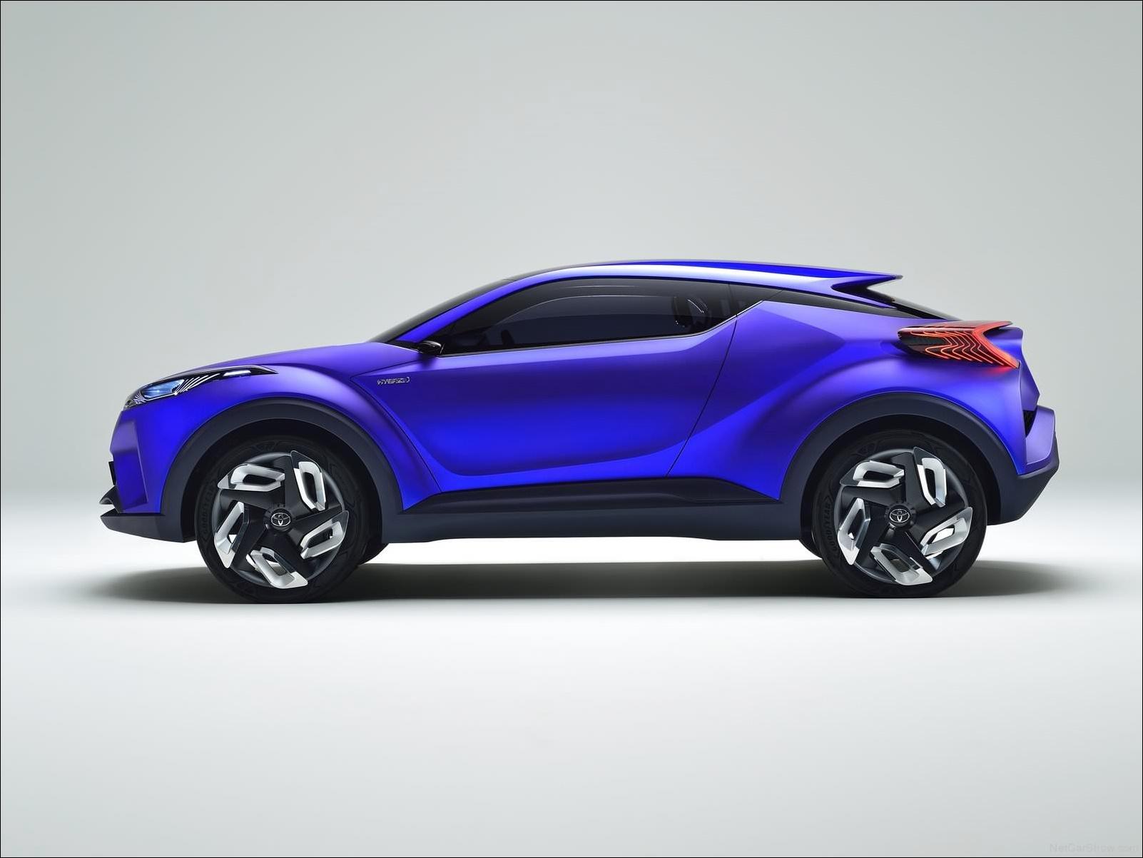 Toyota C-HR Concept サイドビュー