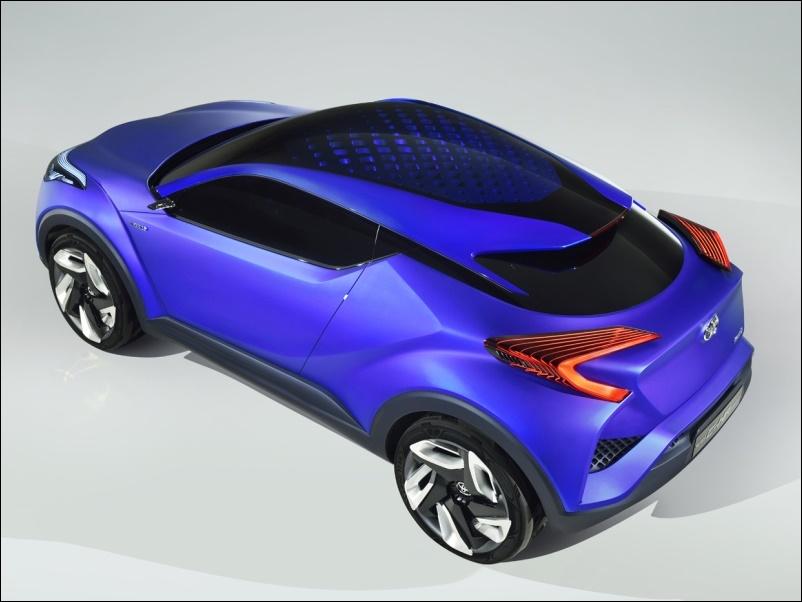 Toyota C-HR conceptリア