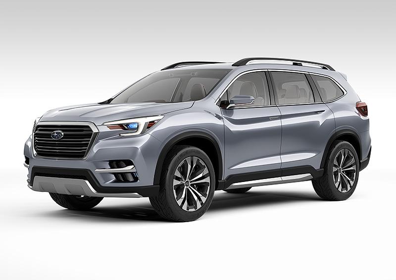 スバル トライベッカ後継の新型SUVアセントを北米で2018年デビュー!日本発売の可能性が低い理由とは?