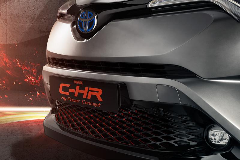 C-HR Hy-Power コンセプトこそがC-HR GRスポーツか!2018年に発売の可能性・・・