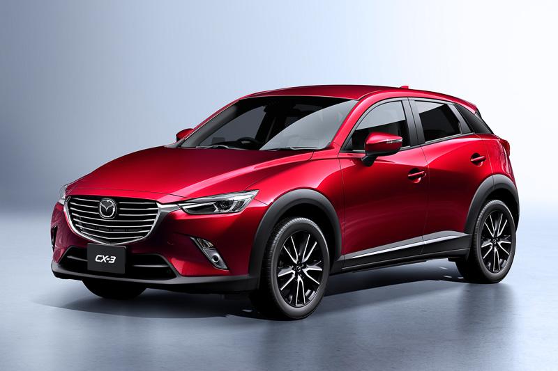 CX-3にガソリン車追加!価格、燃費、スペック等について最新情報